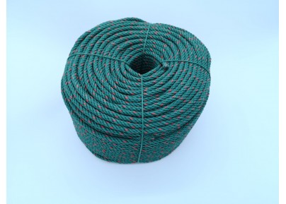 Nylon Rope (Green Red Dot)