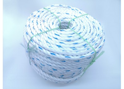 Nylon Rope (White Blue Dot)