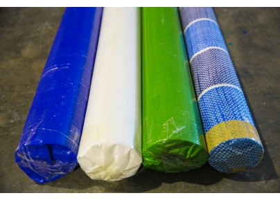 PE Tarpaulin Canvas Roll- White